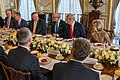 Secretary Pompeo Participates in a Working Breakfast with President Trump and Secretary General Stoltenberg (49163006526).jpg
