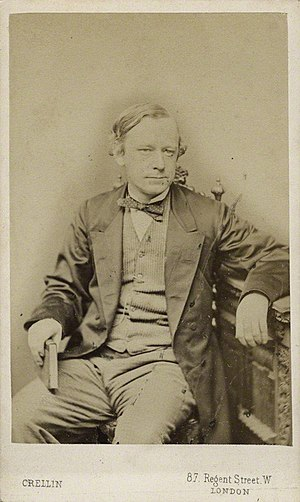 John Robert Seeley - Seeley (photograph by Philip Crellin, 1866)