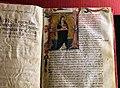 Seguace di taddeo di bartolo, codice della legenda beatae agnetis di raimondo da capua (montepulciano, archivio diocesano) 02.jpg