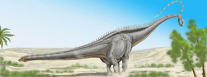 """""""Seismosaurus"""". Seismo (Diplodocus h..."""