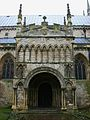 Selby Abbey, north porch.JPG