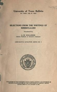 Selections from the writings of Kierkegaard.djvu