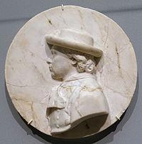 Self portrait by Franz Xaver Messerschmidt, Pressburg, c. 1780, alabaster - Bode-Museum - DSC02941.JPG
