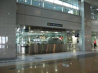 Sengkang MRT/LRT station interchange MRT/LRT station in Singapore