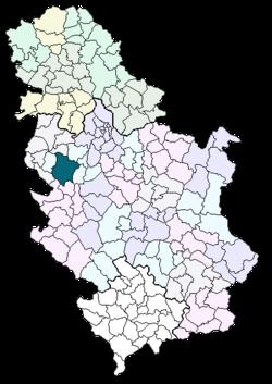 mapa srbije valjevo Valjevo – Wikipedia mapa srbije valjevo