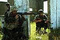 Serbian infantryman and Bulgarian rifleman.jpg