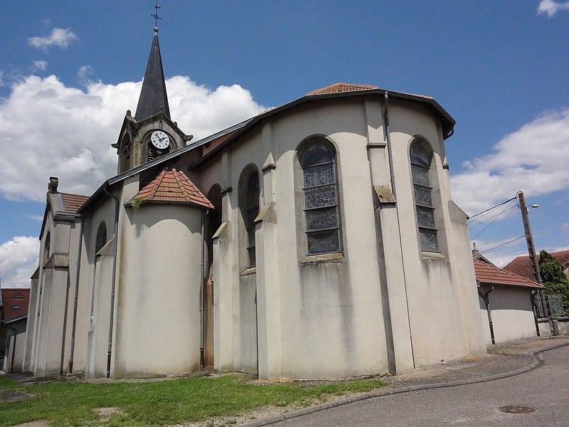Serres (M-et-M) église