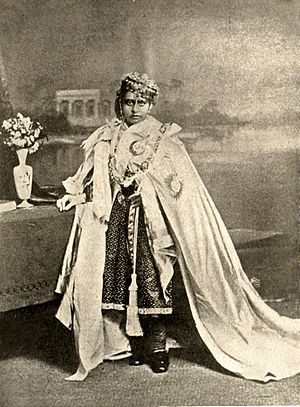 Bhopal State - A young Shah Jahan Begum