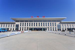 Shanwei Railway Station - Image: Shanwei Railway Station 2014.01.18 10 06 06