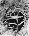 Shasta Dam construction of railroad tunnel 1938.jpg