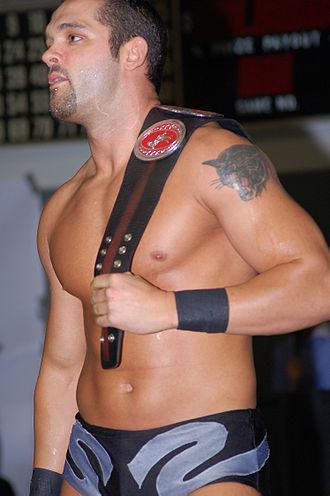 Tye Dillinger - Dillinger as Shawn Spears in December 2007