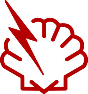 Shellshock (software bug) - A simple Shellshock logo, similar to the Heartbleed bug logo