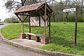 Shelter and Notice Board, Hampton Bishop - geograph.org.uk - 159936.jpg