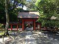 Shimmon Gate of Lower Shrine of Usa Shrine 2.JPG