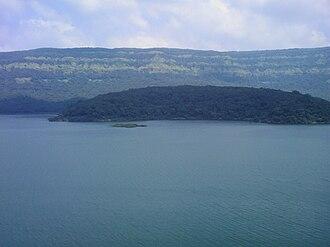 Koyna Hydroelectric Project - Shivasagar lake