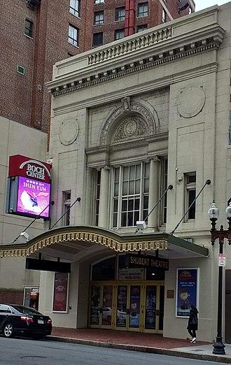 Shubert Theatre (Boston) - Shubert Theatre at the Boch Center, Boston, 2018
