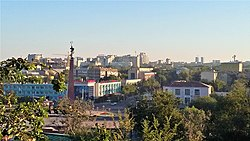 Skyline of Shymkent