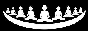 Moksha (Jainism) - Depiction of Siddha Shila as per Jain cosmology which is abode of infinite Siddhas