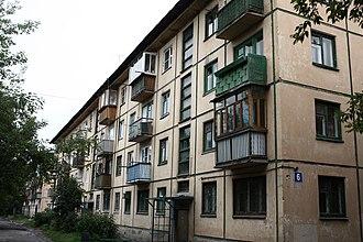 Shelekhov - Example of dwelling housing in Block No3.