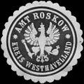 Siegelmarke Amt Roskow - Kreis Westhavelland W0215369.jpg