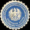 Siegelmarke Der Vorsitzende der Einkommensteuer - Veranlagungs - Commission - Stadtkreis Altona W0212701.jpg