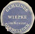 Siegelmarke Gemeinde Wiepke W0343114.jpg