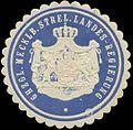 Siegelmarke Gr. Mecklb. Strel. Landes-Regierung W0391424.jpg