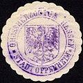 Siegelmarke Grossherzogtum Hessen - Stadt Oppenheim W0229214.jpg