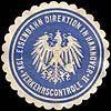 Siegelmarke Königliche Eisenbahn Direktion in Hannover II - Verkehrscontrolle W0219696.jpg