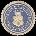 Siegelmarke Magistrat und Polizei-Verwaltung - Kyritz W0262607.jpg