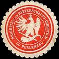 Siegelmarke Prignitzsche Ritterschafts - Direction zu Perleberg W0219187.jpg