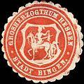 Siegelmarke Stadt Bingen - Grosherzogthum Hessen W0214652.jpg