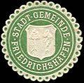 Siegelmarke Stadt Gemeinde Friedrichshafen W0311157.jpg