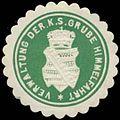 Siegelmarke Verwaltung der K.S. Grube Himmelfahrt W0338469.jpg