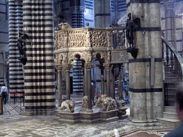 Siena Cathedral Pulpit