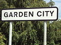 Sign, Garden City, Deeside 3.JPG