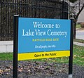 Sign - Mayfield Gate - Lake View Cemetery - 2014-11-26 (16920152634).jpg