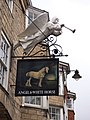 Sign for the Angel and White Horse (geograph 5729867).jpg