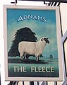 Sign for the Fleece, Bungay - geograph.org.uk - 773237.jpg