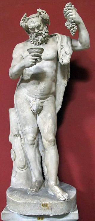 Sileno del 100-150 con testa di età flavia, da originali del primo ellenismo della cerchia di lisisppo.JPG
