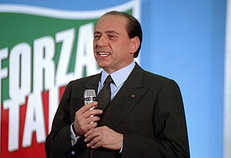 Silvio Berlusconi - Silvio Berlusconi during a meeting in May 1994.
