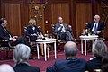 Simon McDonald, Melinda Crane, John B Emerson, and Philippe Etienne, Hotel Adlon, November 2014 (2).jpg