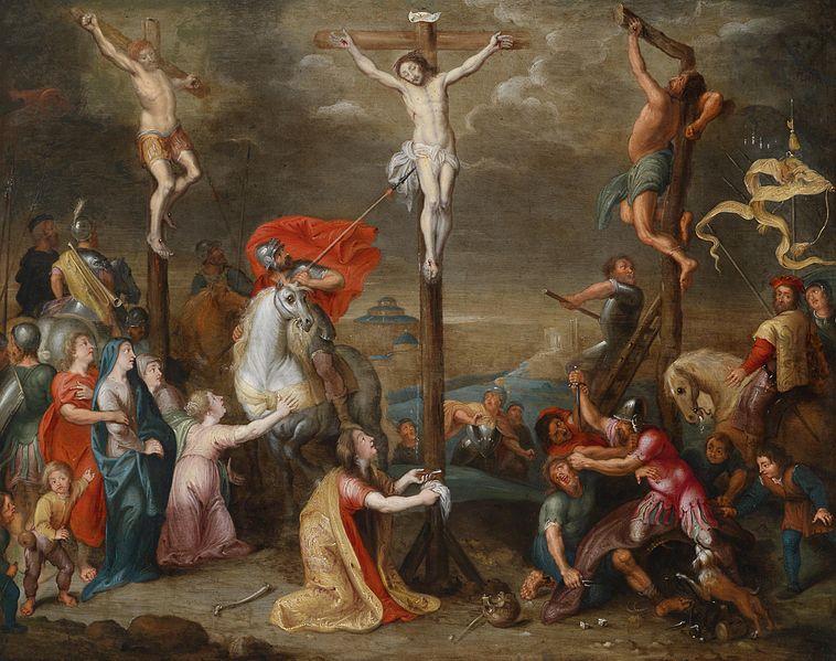 File:Simon de Vos and workshop Crucifixion.jpg