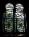 Sinagoga di firenze, interno, vetrata 02.JPG