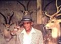 Sinclair Clark at Jonas Bros. Taxidermy Studios, Mount Vernon, NY, 1994.jpg