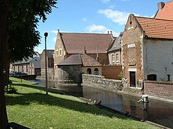 Sint-Catharinabegijnhof Tongeren (Infirmerie & Lakenmakerstoren, Tongeren).jpg