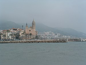 Sitges from the water.jpg