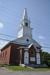 Former First Baptist Church (Skowhegan, Maine) United States historic place