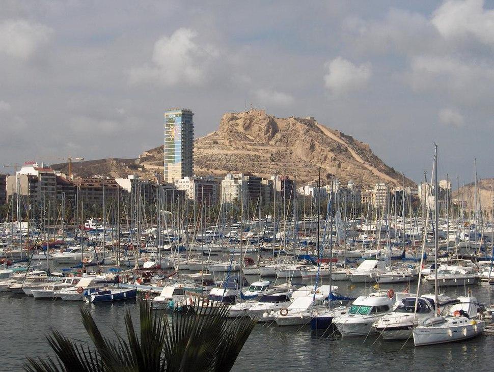 Skyline de Alicante