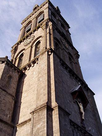 Cathedral of the Immaculate Conception, Sligo - Image: Sligo tower
